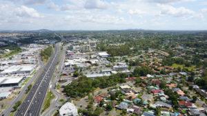 Logan City Aerial